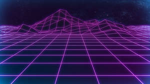 Retrowave Background