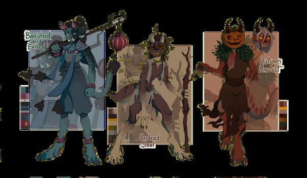 [Raffle | Closed] Halloween Yevatem