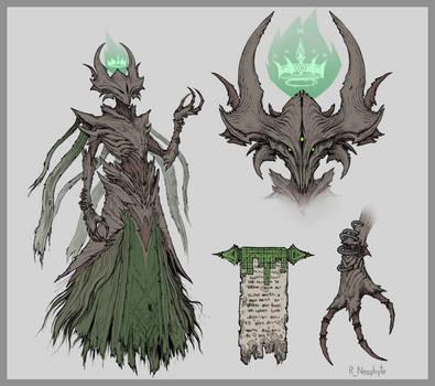 Destiny 2 - Savathun fan concept.