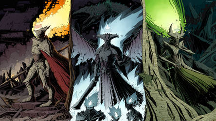 Destiny - Hive Overlords Wallpaper