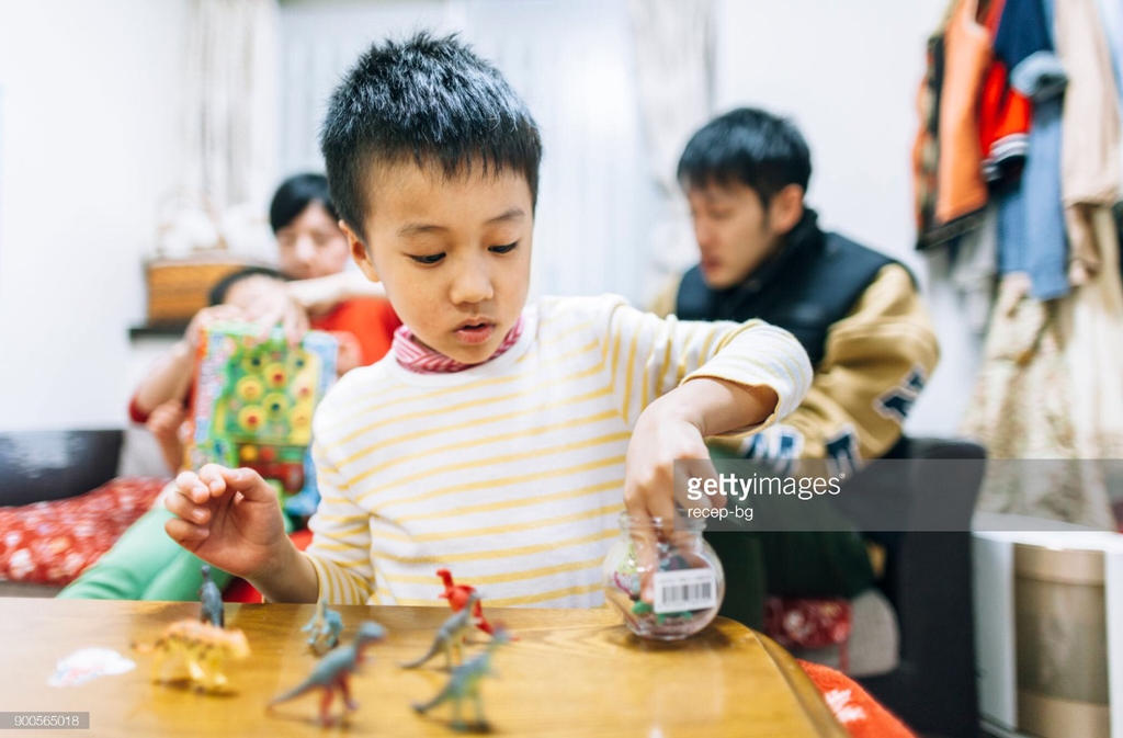 Child And His Toys