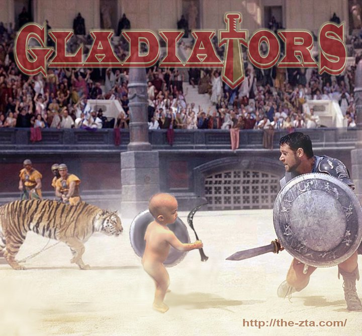 9587cd9a58d0 Gladiator Baby by the-zta on DeviantArt