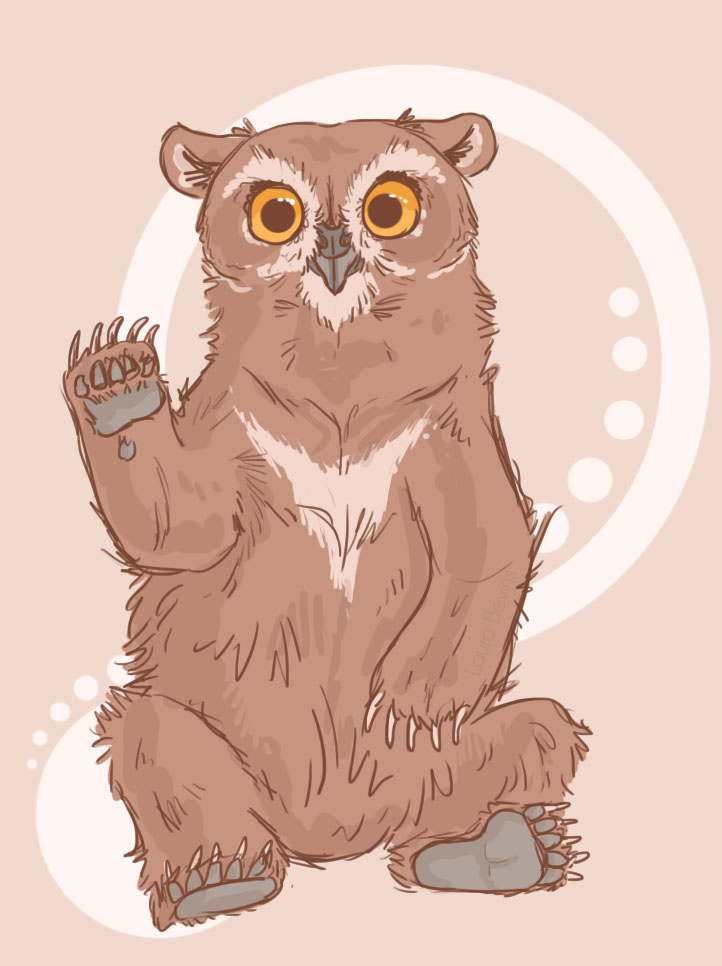 Owlbear by LauraBev