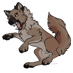 Anger Woof By Edelilah