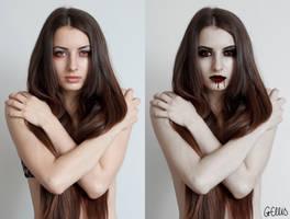 Vampire Retouch by gemlovesyou