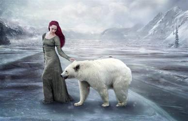 Lake Ice by UDODOVA