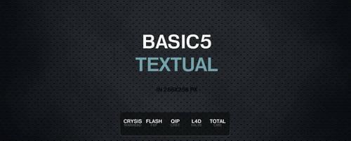 BASIC5 TEXTUAL ADDON by serialZz