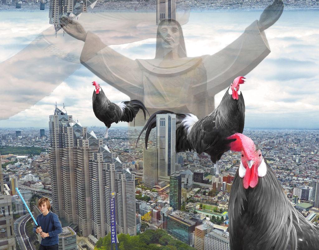 Three Huge Black Cocks In Japan by sane69