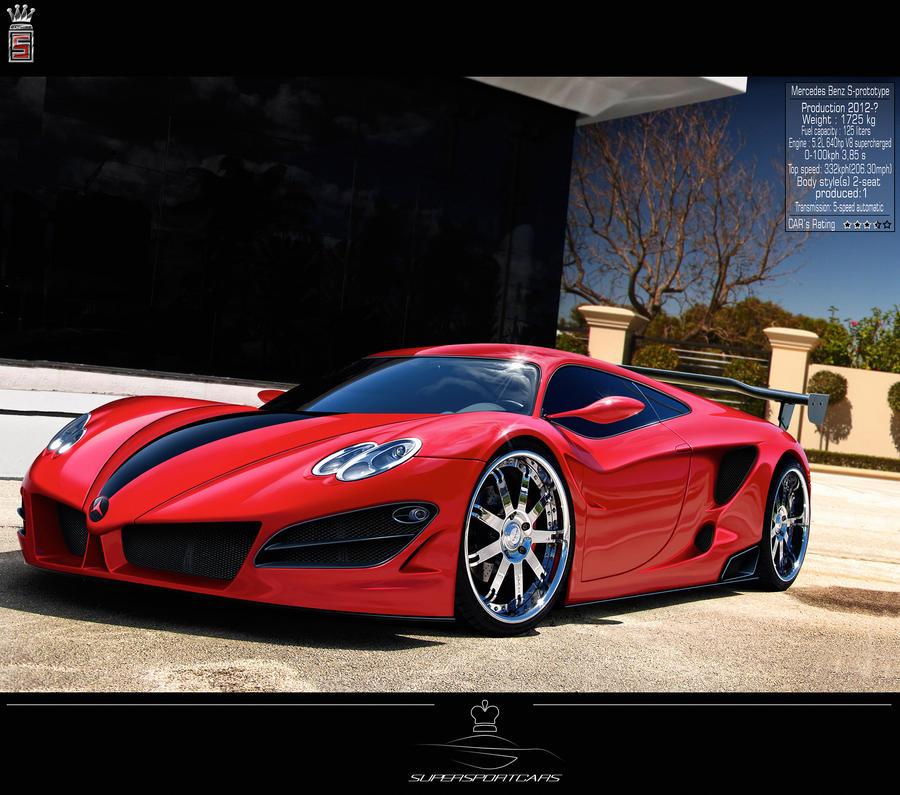 MercedesBenz S-prototype .SSC. By SaphireDesign On DeviantArt