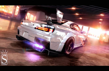 Nissan Silvia by SaphireDesign