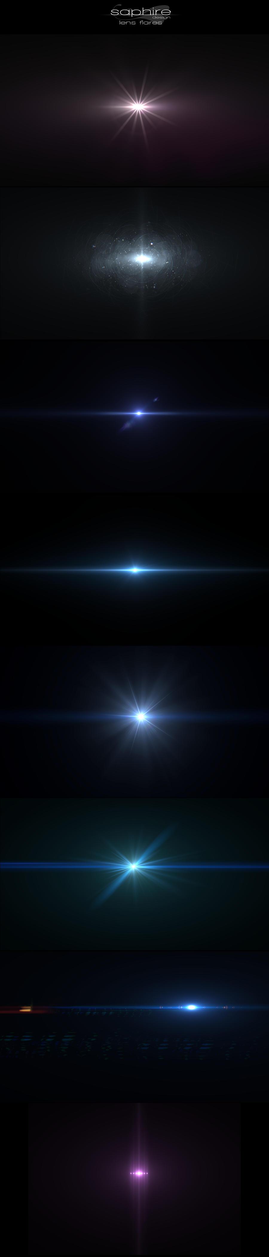 Amazing lens flares