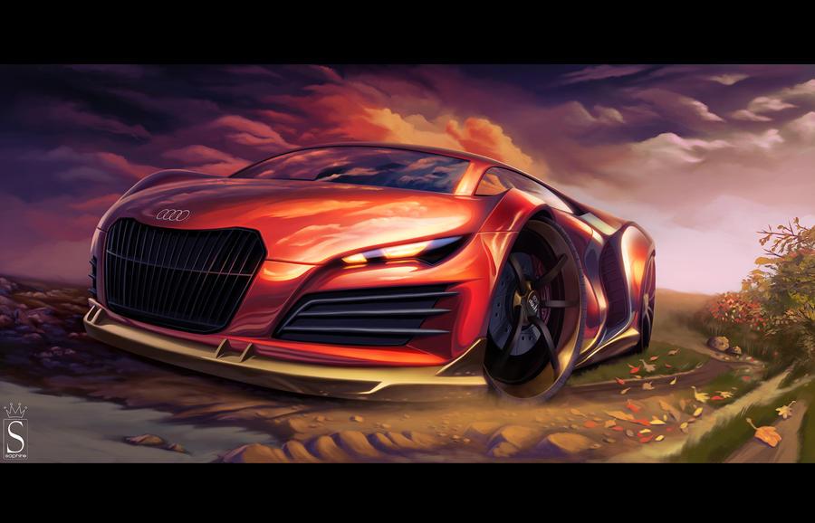 Audi R9 By Saphiredesign On Deviantart