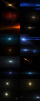 Lens Flares and lights