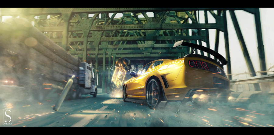 Ford mustang by SaphireDesign