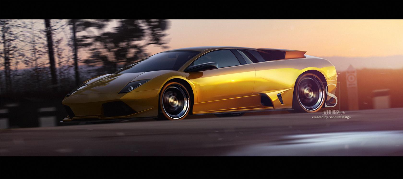 Lamborghini  murcielago LP640 by SaphireDesign