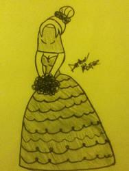 The Black Veiled Bride by AmberKorpse