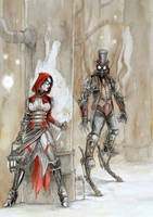 Steampunk Fairytale: Red by odingraphics