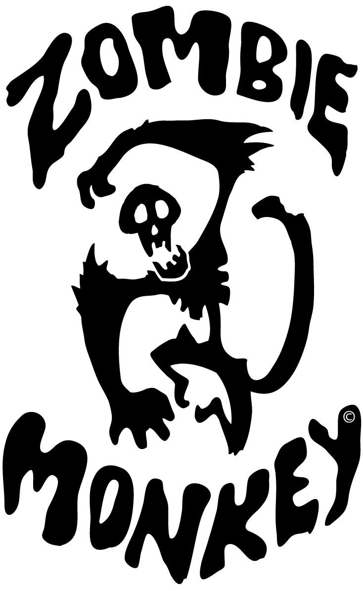 Zombie Monkey Logo by odingraphics