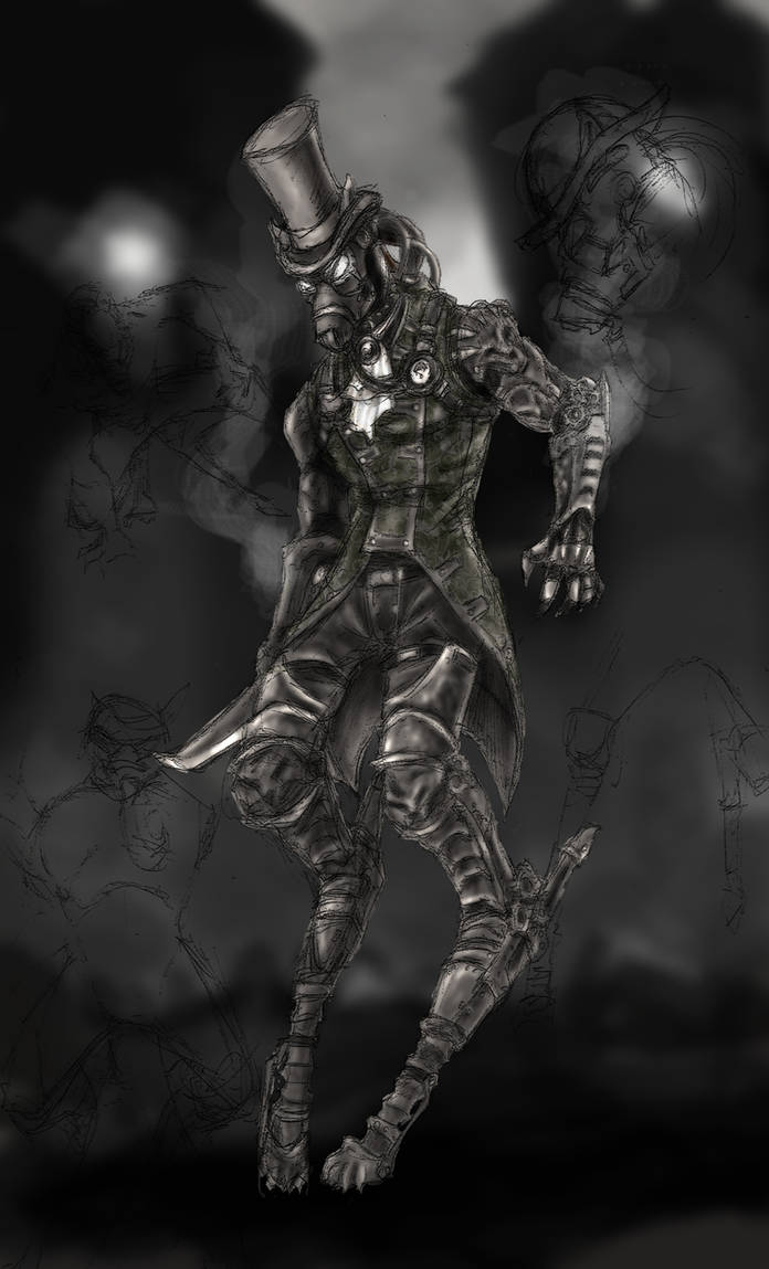 Streampunk Big Bad Wolf by odingraphics