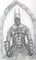 Steampunk Batman sketch