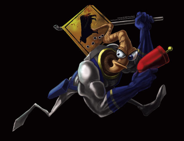 Earthworm Jim by Zatransis on DeviantArt
