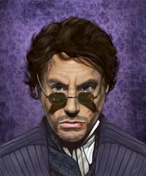 Sherlock Holmes by odingraphics