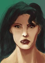 Portrait Speedpaint by odingraphics