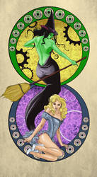 The Witches of Oz by odingraphics