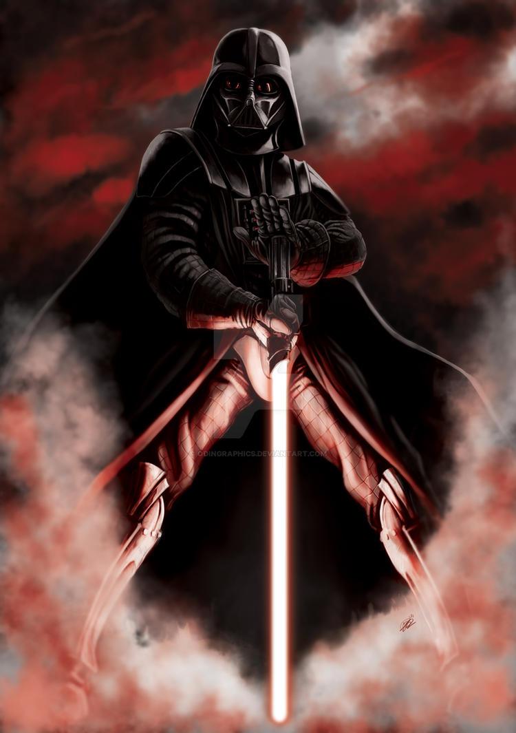 Darth Vader by odingraphics