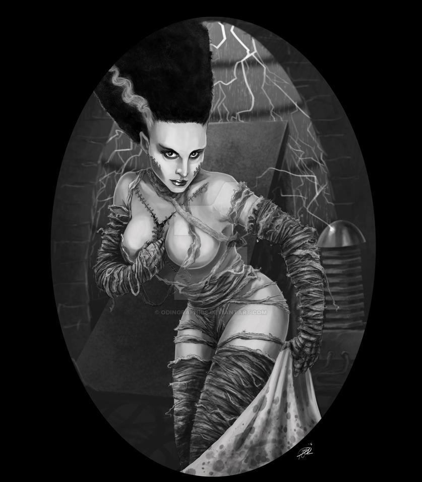Bride Of Frankenstein by odingraphics