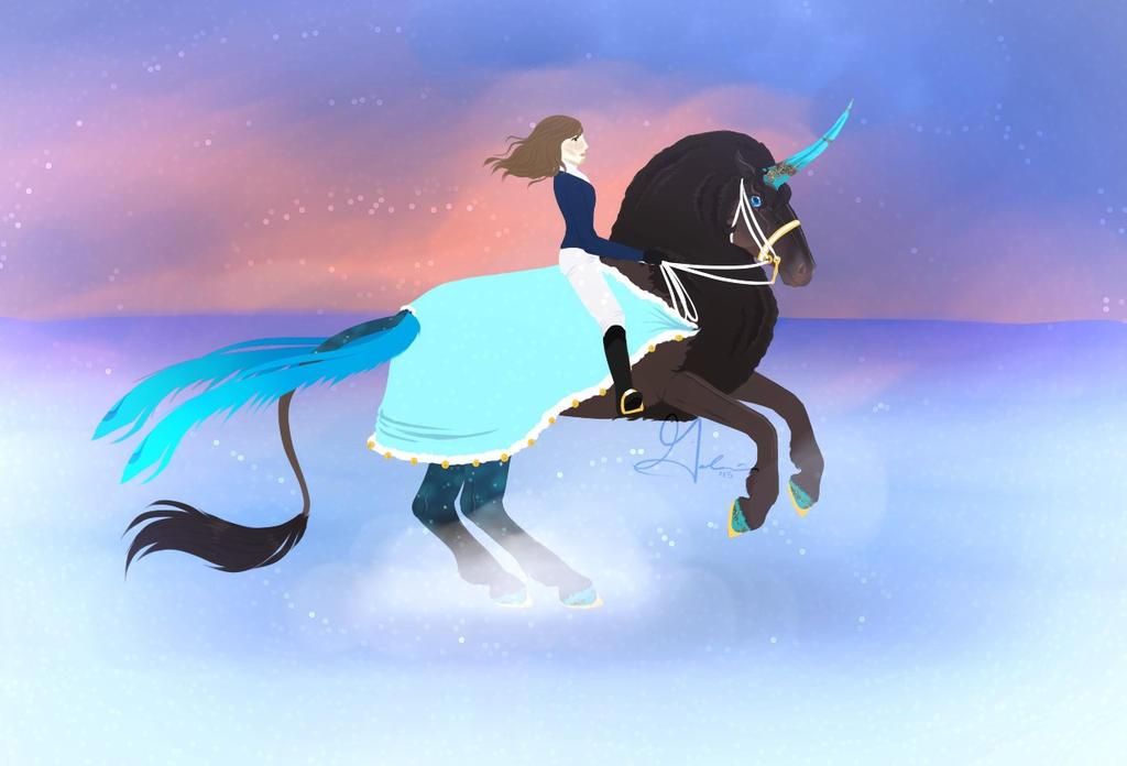 Walking in a Winter Wonderland by ElderiaArts
