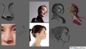 Reddit Sketch Daily - Noses