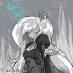 2017-02-16 Daily Doodle Adventure Time - Ice Queen