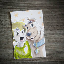 Scooby Doo and Shaggy BFF's Forever