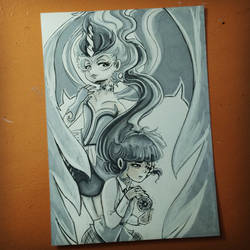 11 - MLP Twighlight Sparkle and Midnight Sparkle