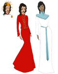 Korrasami Wedding: Haute Couture by marylizabetha