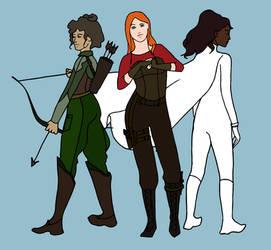 Misfits Alternate Outfits by marylizabetha