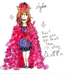 The smol queen
