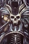 Tribal Mecha Skull