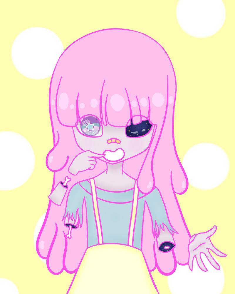 Bubblegum Space by SouCookie