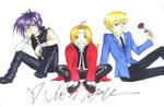 Ed, Dark and Tamaki