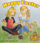 FMA Happy Easter 2012 by MangaX3me