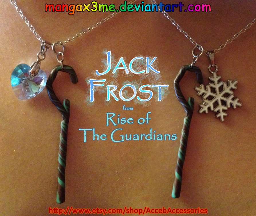 ROTG Necklace Jack Frost by MangaX3me