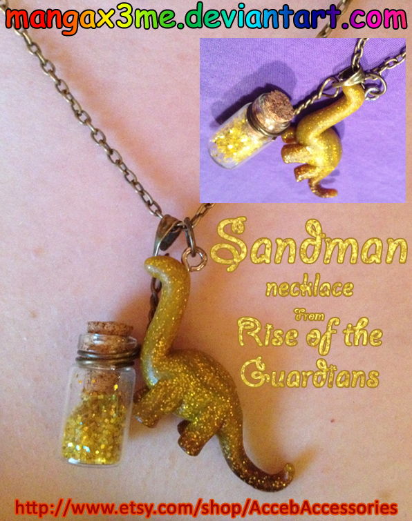 ROTG Necklace Sandman by MangaX3me