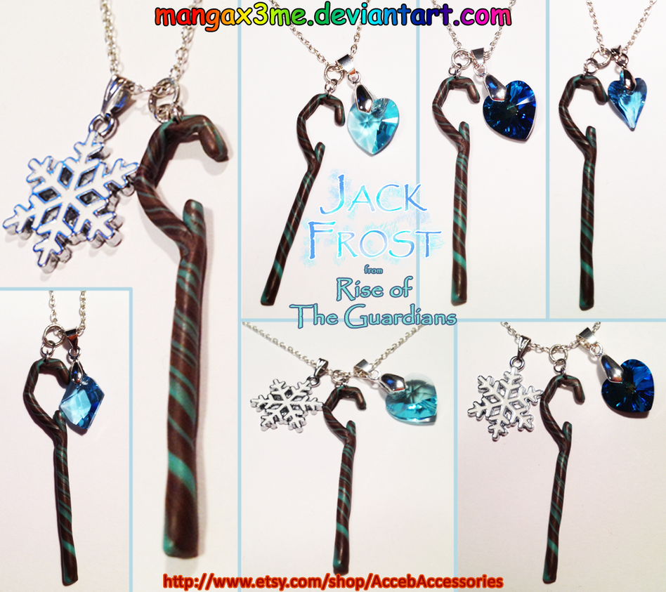 ROTG Necklace Jack Frost NEW COLLECTION by MangaX3me