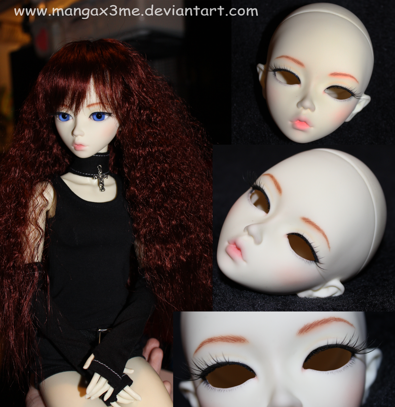 BJD face-up by MangaX3me