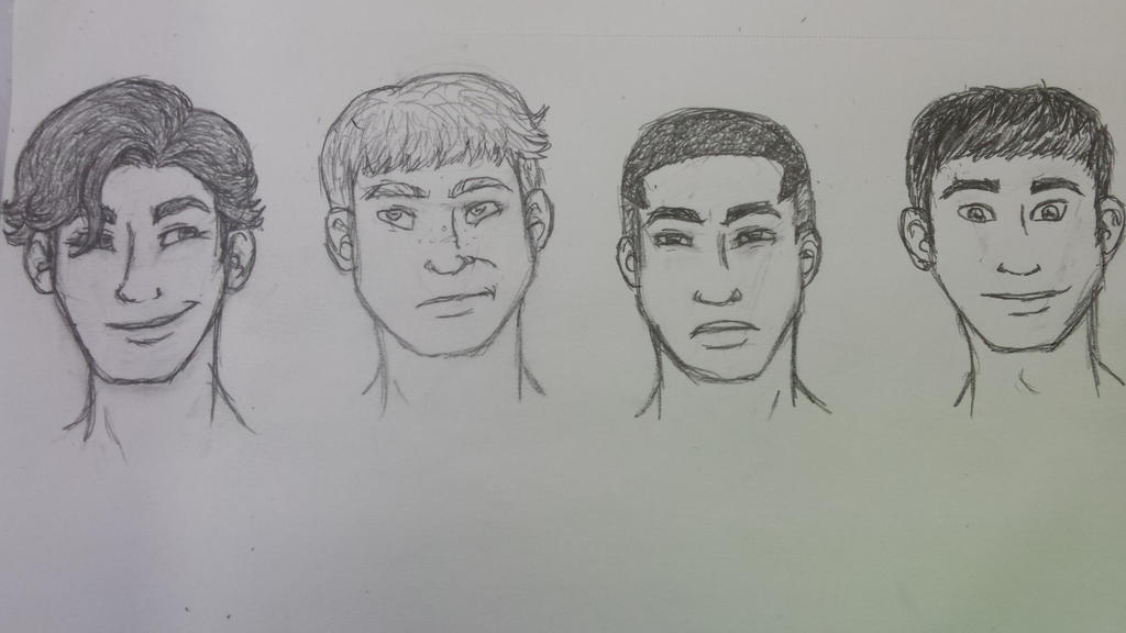 face practice, earth GL edition by the-dragon-childe