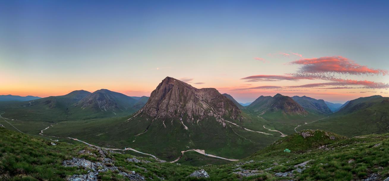 Sunrise over Buachaille Etive Mor by Aenkill