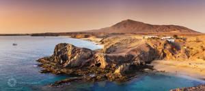 El Golfo cliffs by Aenkill
