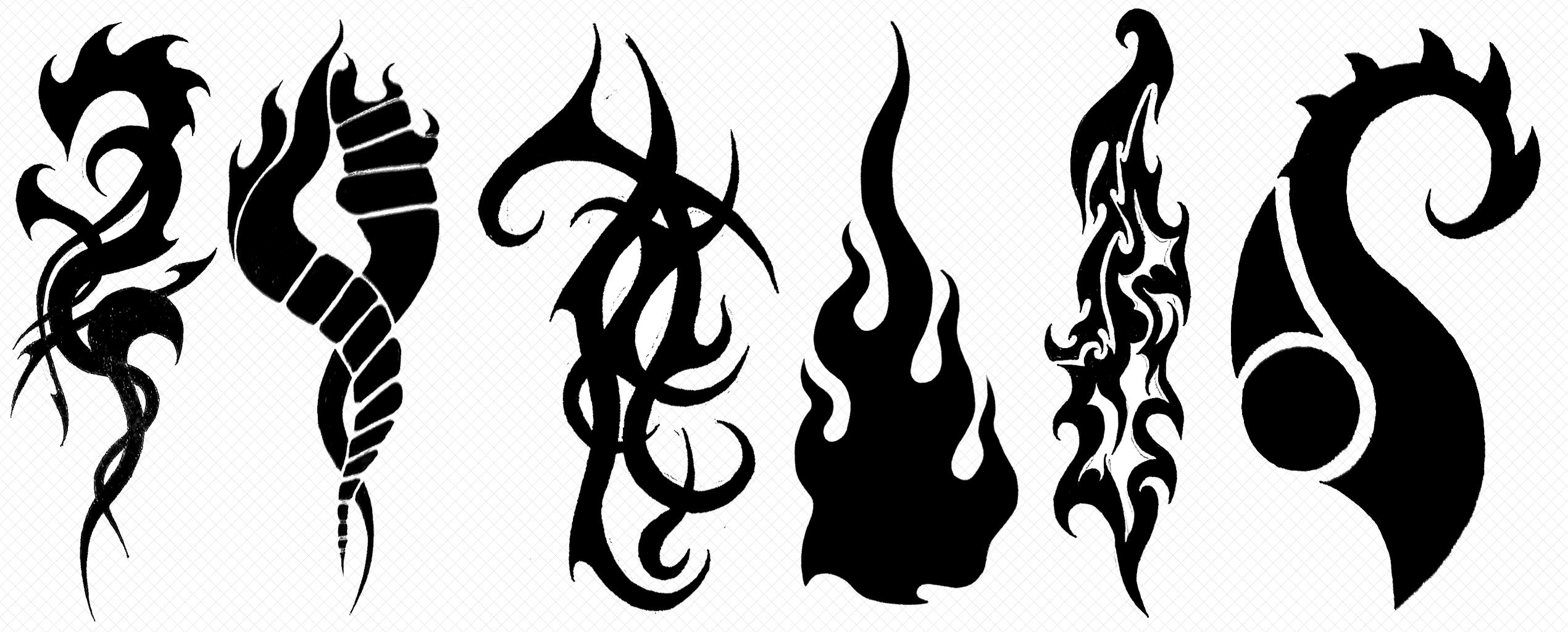 tattoos iii black abstract by eel ecurb on deviantart. Black Bedroom Furniture Sets. Home Design Ideas